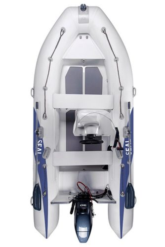 RIB (rigid Inflatable Boat)